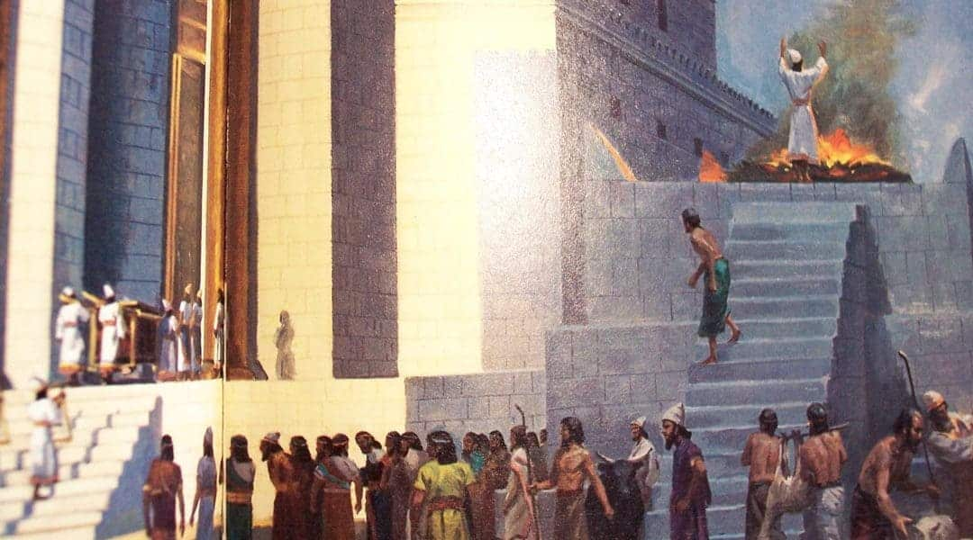 SACRIFICIILE DIN TEMPLU (Vaikra 5762)