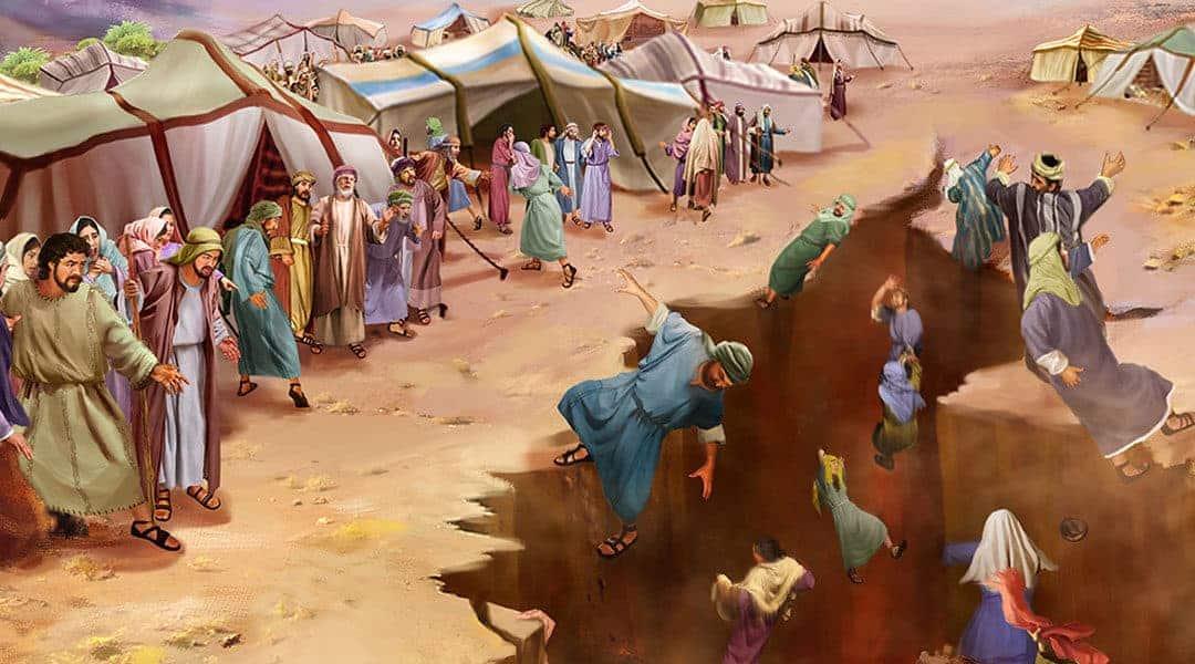 DISPUTA LUI KORAH (Korah 5779)
