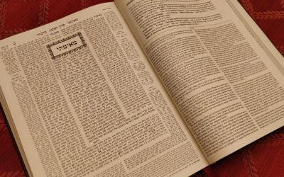 O EXCURSIE… TALMUDICĂ (Vaiehi 5780)